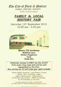 York Family history flyer_0001