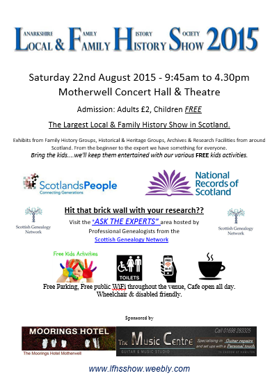 August 2015 Event Scotland