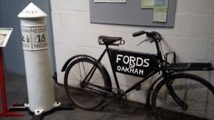 Jones Bicycle in Rutland Museum