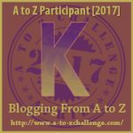 K is for Keeping in Touch