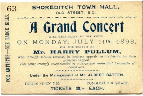 A Grand Concert for Harry Pullum