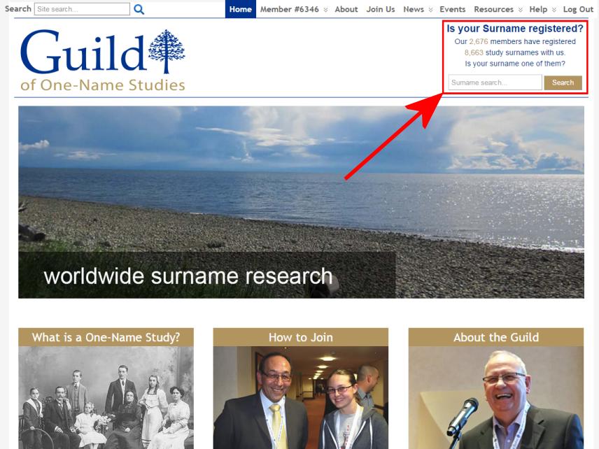 Surname Search