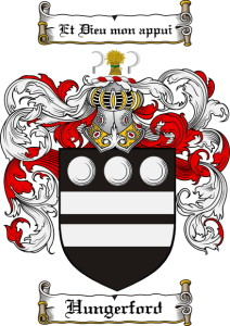 The Hungerford Coat of Arms and Family Crest