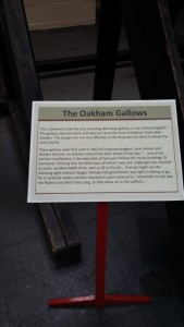 Gallows Notice