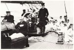 Kaiser Wilhelm II, aboard one of five Royal Yacht Meteor class. Is George in this Picture??