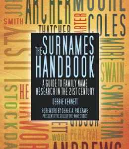 The Surnames Handbook by Debbie Kennett