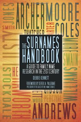 The Surnames Handbook by Debbie Kennett