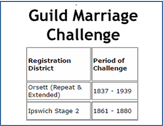 Guild Marriage Challenge